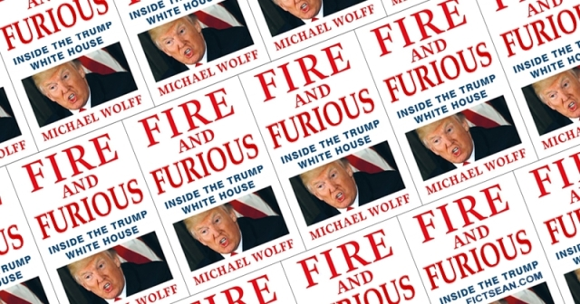 Fire and Furious Trump Book Michael Wolf