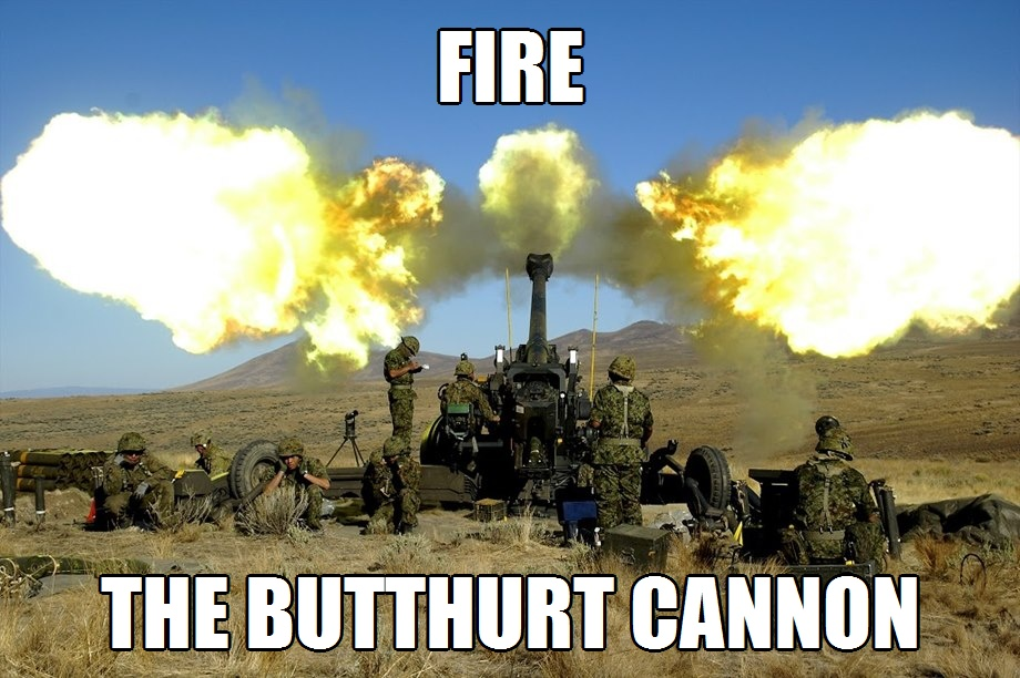 Fire the Butthurt Cannon 1