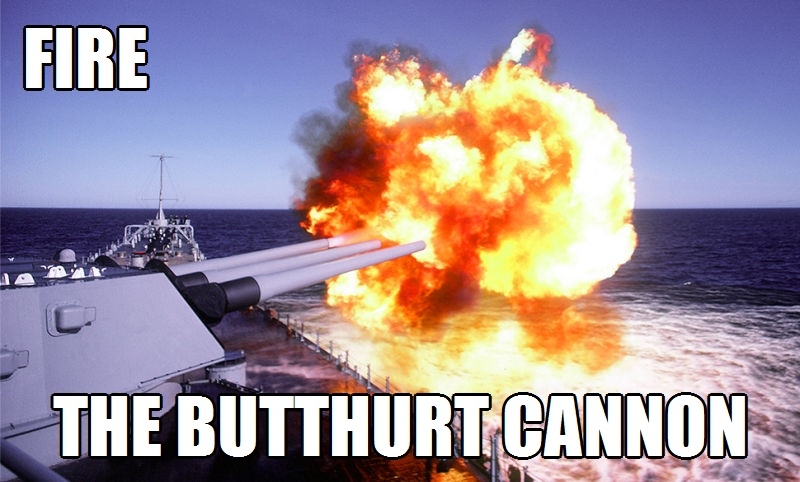 Fire the Butthurt Cannon 2