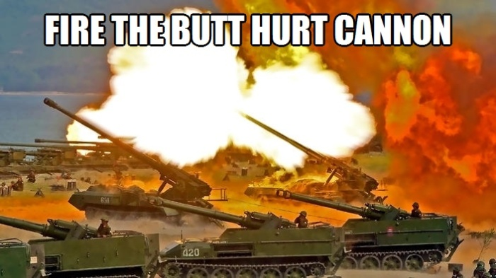 Fire the Butthurt Cannon 3