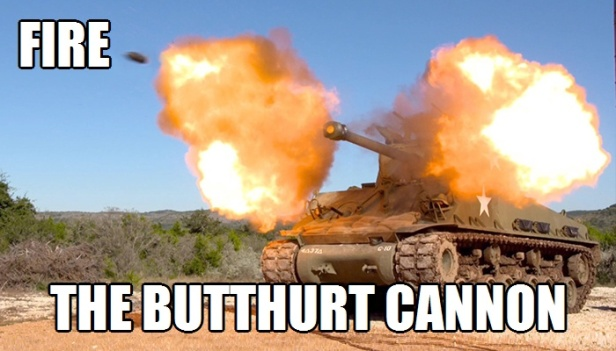 Fire the Butthurt Cannon 4