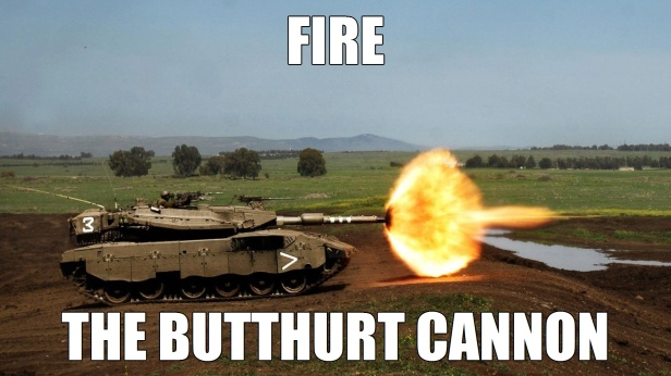 Fire the Butthurt Cannon 7