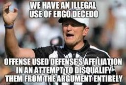 Guilt by Association Ergo Decedo 1