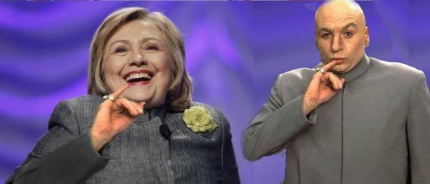 Hillary Clinton Dr Evil Austin Powers