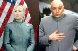 Hillary Clinton Dr Evil Austin Powers2