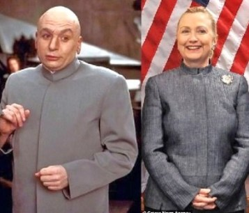 Hillary Clinton Dr Evil Austin Powers3