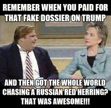 ! Hillary Clinton That Was Awesome Chris Farley Trump Dossier !3