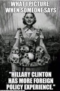 Hillary has more foreign policy experience