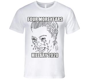 ! Kim Kardashian Crying Tears T-Shirt Hillary 2020