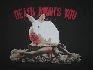 Monty Python Bunny Death Awaits You
