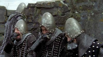 Monty Python - Taunting French Knights 2 Laugh