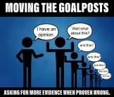 Moving the Goal Posts b