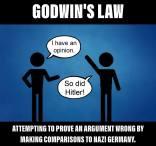 Nazi-Hitler Comparison - Godwin's Law