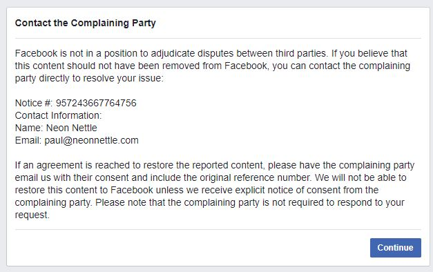 NeonNettle trys Copyright Infringement2