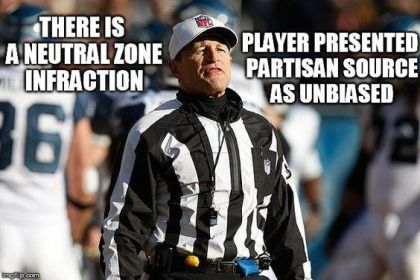 Neutral Zone Infraction - Partisan Source Submitted as Unbiased