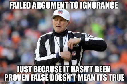 Not Proven False does NOT EQUAL True
