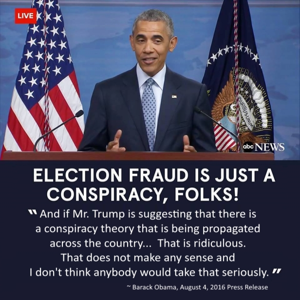 ! Obama Election Fraud Conspriacy Impossible