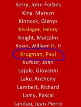 Paul Krugman Committee of 300