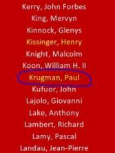 Paul Krugman Committee of 300