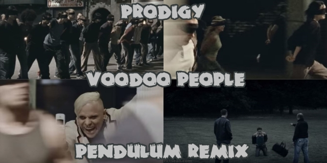 Prodigy Voodoo People (Pendulum Remix) Video BANNER
