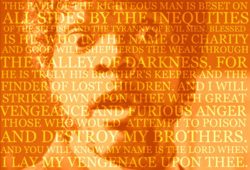 Pulp Fiction Ezekiel 25 17
