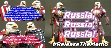 ReleaseTheMemo Schiff Pelosi Russian Bots Most Murica Ever Eagle