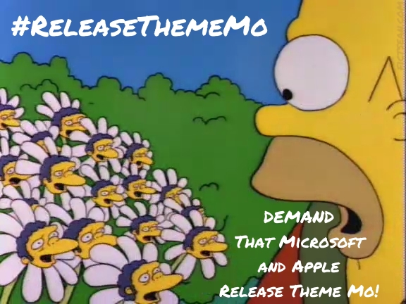ReleaseThemeMo The Simpsons Moe