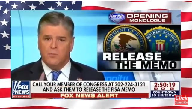 ! Sean Hannity Release the Memo