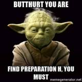 Star Wars Yoda Butt Hurt You Are Preparation H