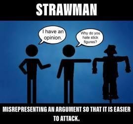 Strawman Argument b