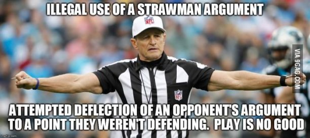 Strawman- Changing the Subject to Easier Target