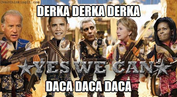 Team America Obama Derka DACA