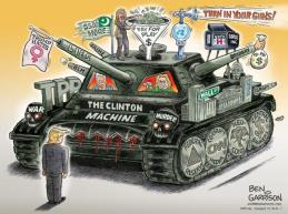 The Clinton Machine