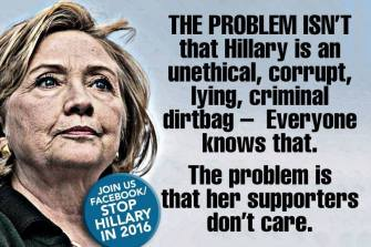 ! The Problem is Clinton Supporters