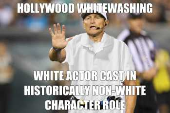 Whitewashing Hollywood Whitewashing