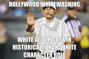 Whitewashing Hollywood Whitewashing