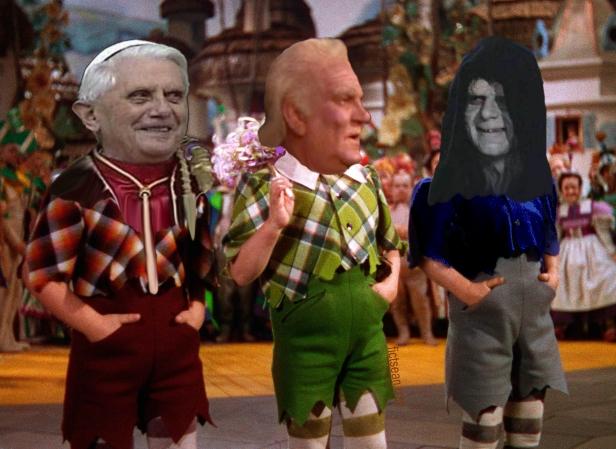 ! Wizard of Oz Pope Benedict Senator Palpatine Lolipop Guild 2