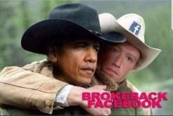 ! Brokeback Facebook Obama Zuckerberg