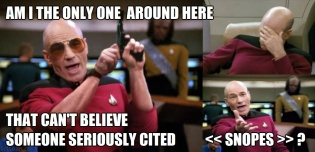 ! Picard Lebowski Snopes Only One Around Here3