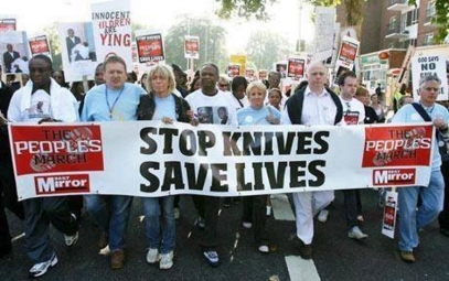 ! Stop ! Knives Save Lives