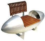 Aviation Retro Chair Bench 1