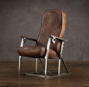 Aviation Retro Chair Seat Row 1