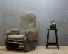Aviation Retro Chair Seat Row 3