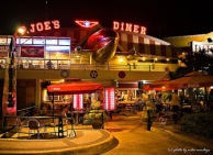 ! Aviation Retro ! Exterior 2 P Joes Night