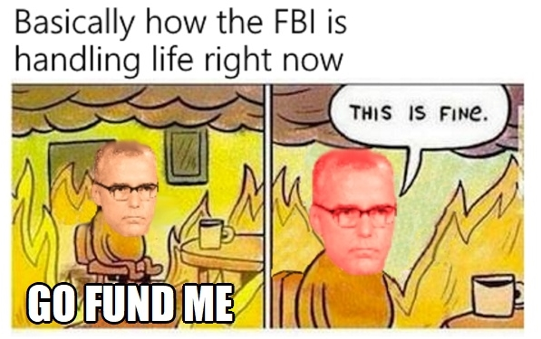 ! Dog on Fire Melting in Hell Clip McCabe Go Fund Me
