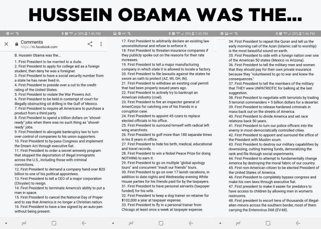 ! Hussein Obama Was the... List MICHAEL OBAMA
