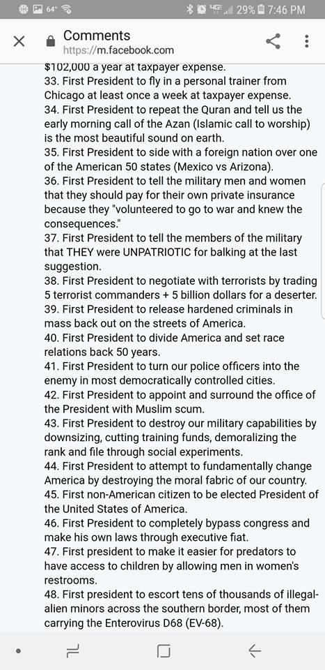 ! Obama List 3