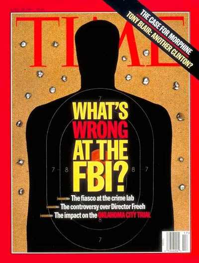 TIME MAGAZINE Whats Wrong at the FBI