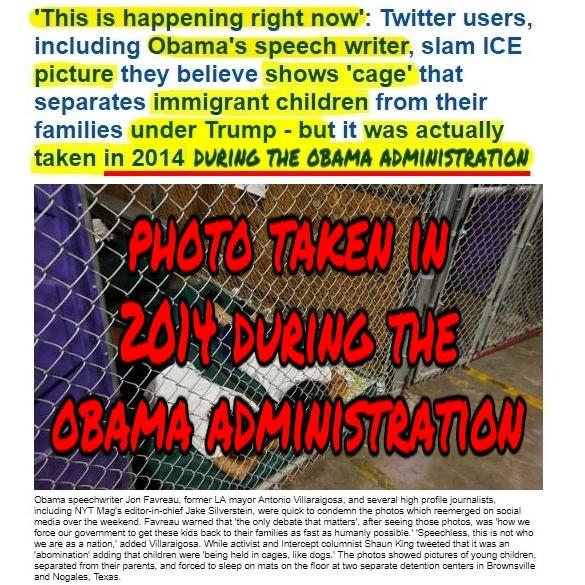 .9 Children in US Concentration Camp Prison during Obama 2014 not TrumpHL During ObamaPMT