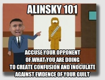 Alinsky 101 Accuse Your Opponent Adam Schiff Chewbacca Defense